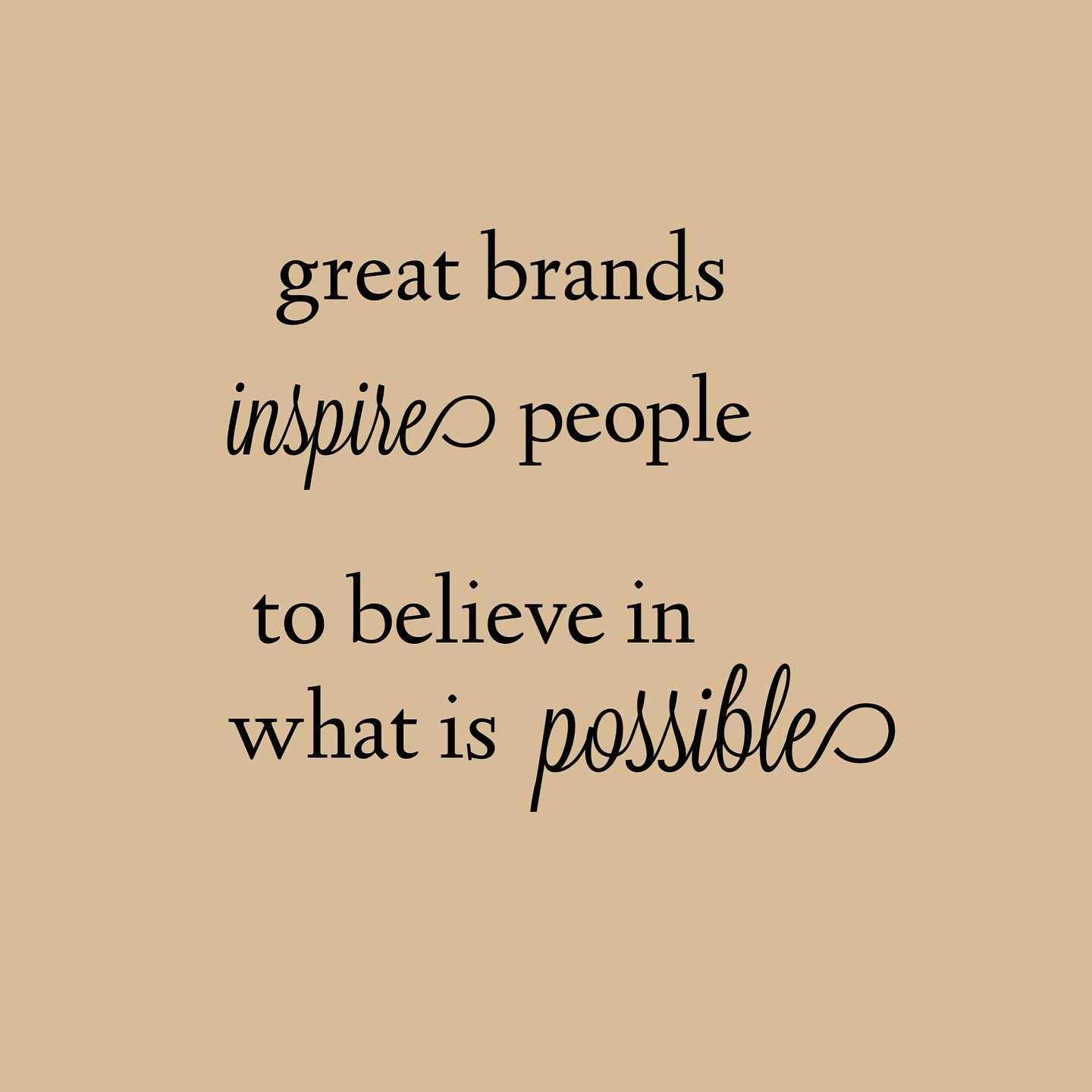 PM Parkett Design Posting great brands inspire people to believe in what is possible