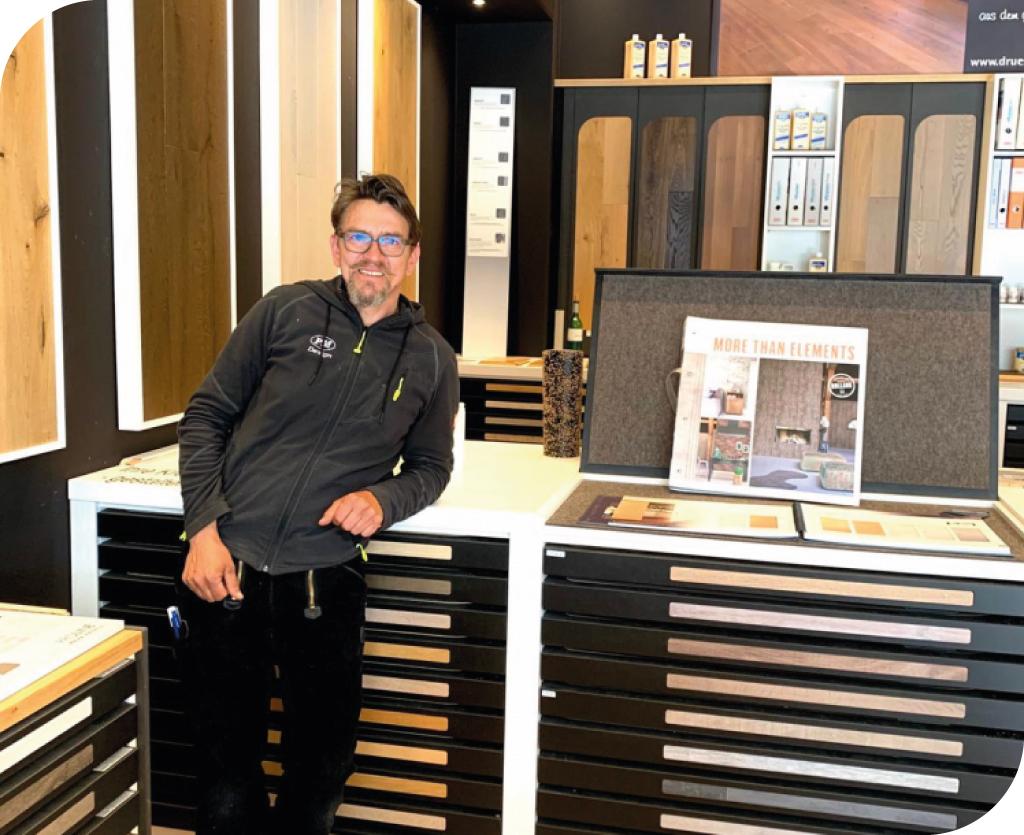 PM Parkett Design Ausstellungsraum Mirko